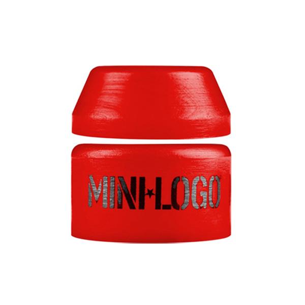 미니로고 스케이트 부싱 XMD806RE / MINILOGO HARD BUSHINGS SINGLE 100A RED [1SET]